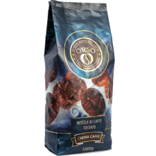 Кофе в зернах Orso Cafe Crema 1kg