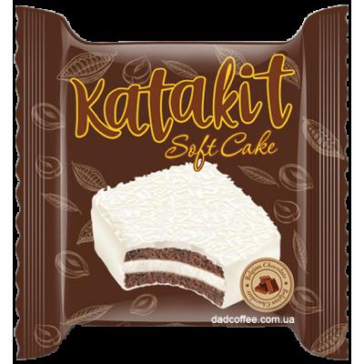 Бисквит Katakit SoftCake с маршмеллоу в Белом шоколаде