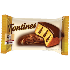 Бисквит Tontines с шоколадом