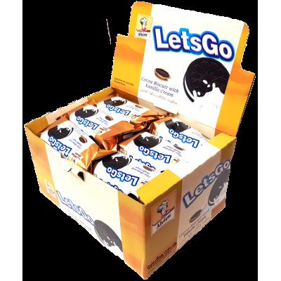 Печенье Let's Go Сэндвич 36g Блок (24шт.)