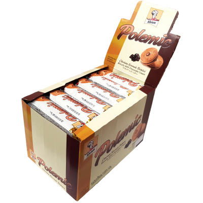 Печенье Polemic Шоколад 68g Блок (24шт.)