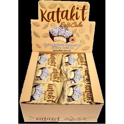 Бисквит Katakit SoftCake с маршмеллоу в Молочном шоколаде Блок (24шт.)