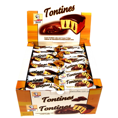Бисквит Tontines с шоколадом Блок (24шт.)