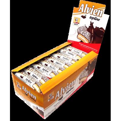 Печенье Topline Шоколад 56g Блок (24шт.)