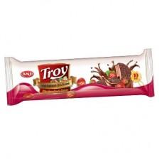Печенье Сэндвич Troy с маршмеллоу Клубника  200g