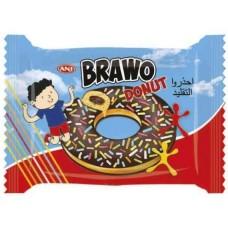 Донат Bravo с Цветной посыпкой