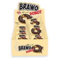 Донат Bravo в Молочном шоколаде Блок (24шт.)