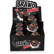 Донат Bravo в Черном шоколаде Блок (24шт.)