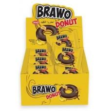 Донат Bravo Банан Блок (24шт.)