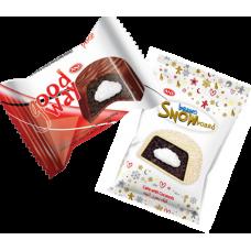 Пирожное GoodWay Какао/SnowBoard Кокос Блок (24шт.)