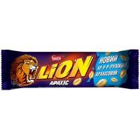 Шоколадный батончик Lion с арахисом