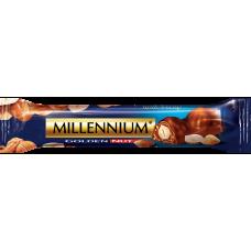 """Шоколадный батончик """"Millennium"""" молочный с целым орехом"""
