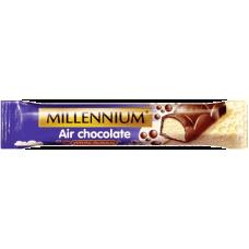 """Шоколадный батончик """"Millennium"""" пористый 2в1"""