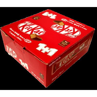 Шоколадный батончик KitKat King Size Блок (24шт.)