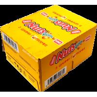 Шоколадный батончик Nuts King Size Блок (24шт.)