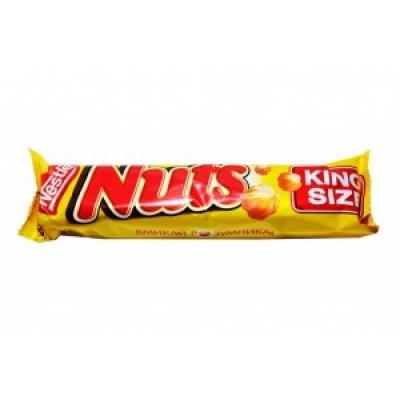 Шоколадный батончик Nuts King Size