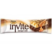 Бисквит Invite с мёдом