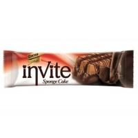 Бисквит Invite с шоколадом