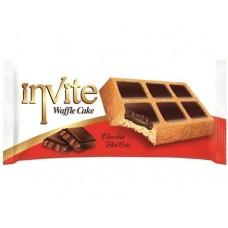 Вафли Invite с шоколадом