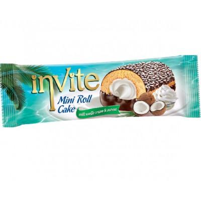 Рулеты Invite с кокосом