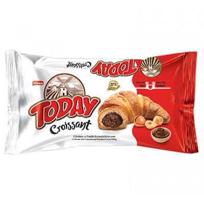 Штучный круассан Today Какао с орехами
