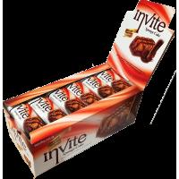 Бисквит Invite с шоколадом Блок (24шт.)