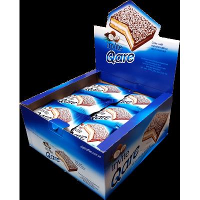 Бисквит Qare Кокос Блок (24шт.)