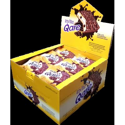 Бисквит Qare Шоколад Блок (24шт.)
