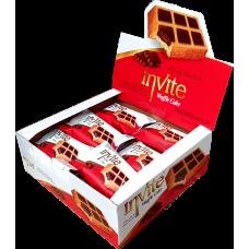 Вафли Invite с шоколадом Блок (24шт.)