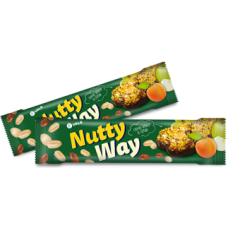 Батончик-мюсли Nutty Way Зеленый