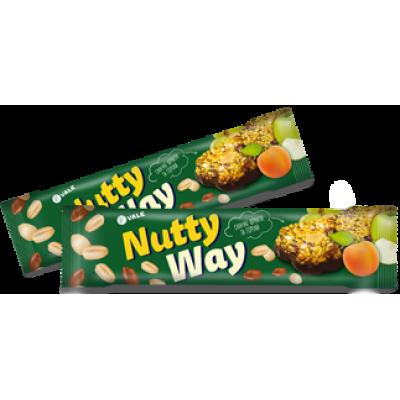 Батончик-мюсли Nutty Way Зеленый