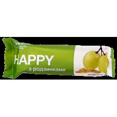 Батончик-мюсли Happy Виноград