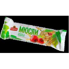 Батончик-мюсли Спартак Вишня