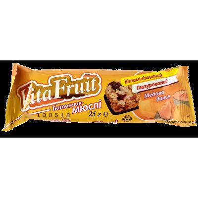 Батончик-мюсли Vita Fruit Дыня