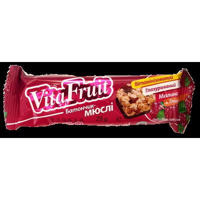 Батончик-мюсли Vita Fruit Малина