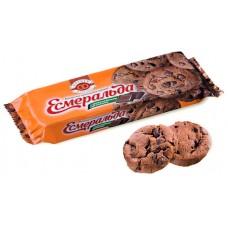 Печенье Roshen Эсмеральда Шоколадная с Шоколадными кусочками