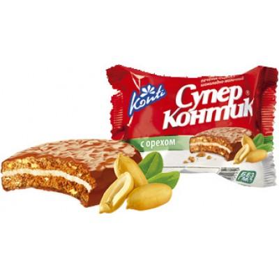 Печенье Супер Контик Молочный Орех 50 гр