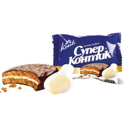 Печенье Супер Контик Сгущенное молоко 50 гр
