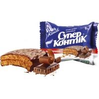 Печенье Супер Контик Шоколад 50 гр
