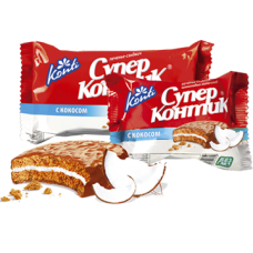 Печенье Супер Контик Кокос 100 гр