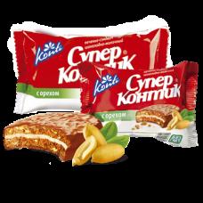 Печенье Супер Контик Молочный Орех 100 гр