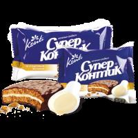Печенье Супер Контик Сгущенное молоко 100 гр