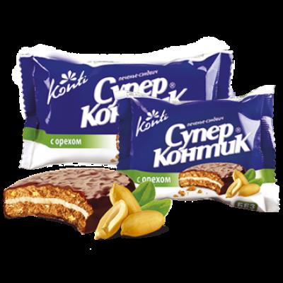Печенье Супер Контик Орех 100 гр