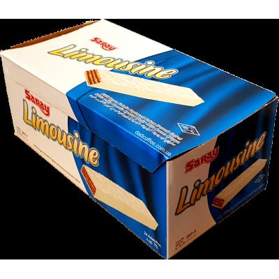 Вафли Limousine в Белом шоколаде Блок (24шт.)