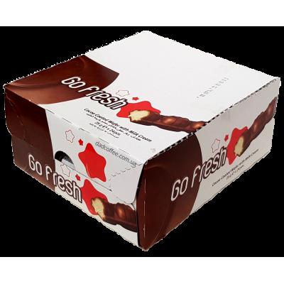Батончик GoFresh молочный крем Блок (24шт.)