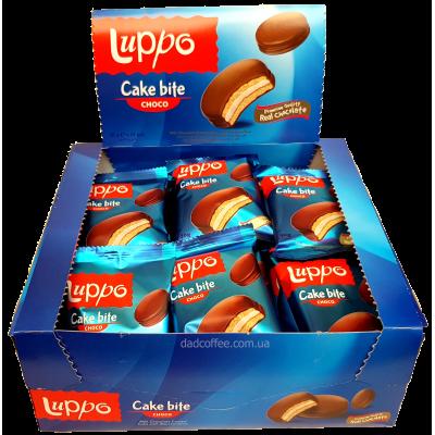 Печенье с маршмеллоу Luppo Choco Блок (24шт.)