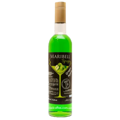 "Сироп ТМ ""Maribell"" Зелёное яблоко"