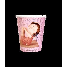 """Стаканчики бумажные """"Гапчинская розовые"""" 175 мл. (50шт./уп.) (КР-69)"""