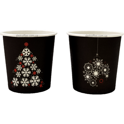 "Стаканчики бумажные ""Merry Christmas"" 175 мл. (50шт./уп.) (КР-69)"