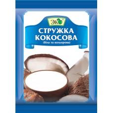 """Специи ТМ """"ЭКО"""" Кокосовая стружка Белая 40g"""